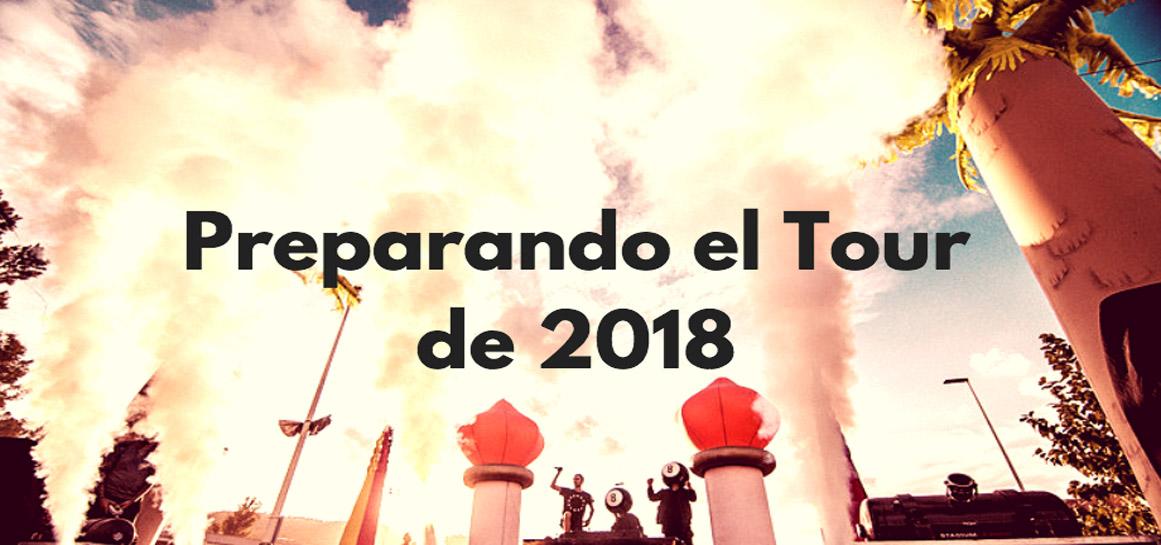 Preparando el tour de 2018