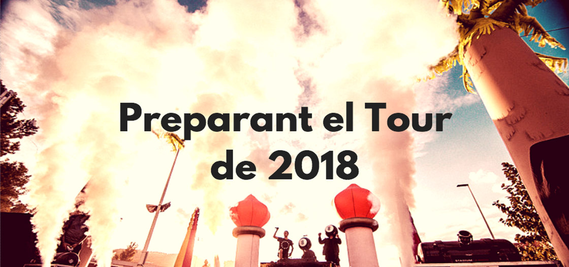 Preparant el Tour de 2018