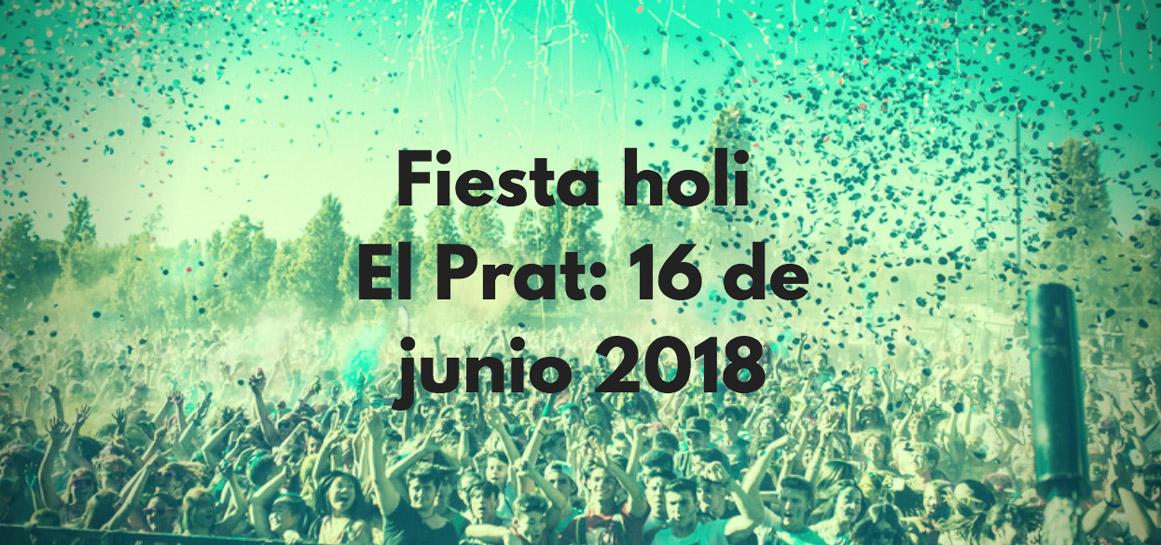 Fiesta holi Prat de Llobregat
