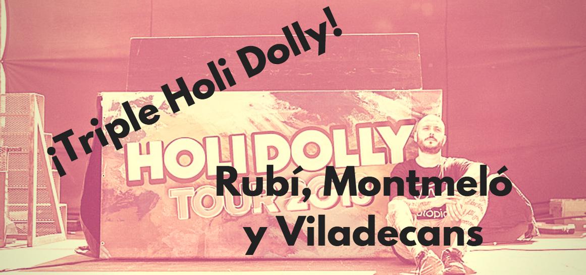 Triple fiestas holi Rubí, Viladecans y Montmeló