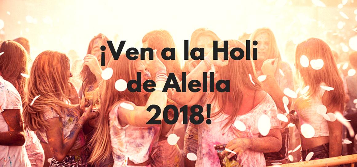 Fiesta holi Alella 2018