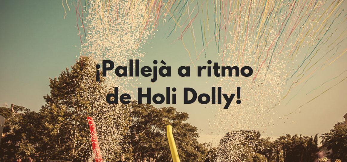 Fiesta holi en Pallejà
