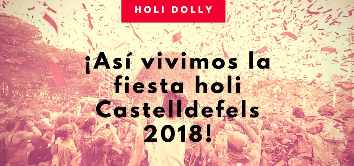 Fiesta Holi Dolly Castelldefels