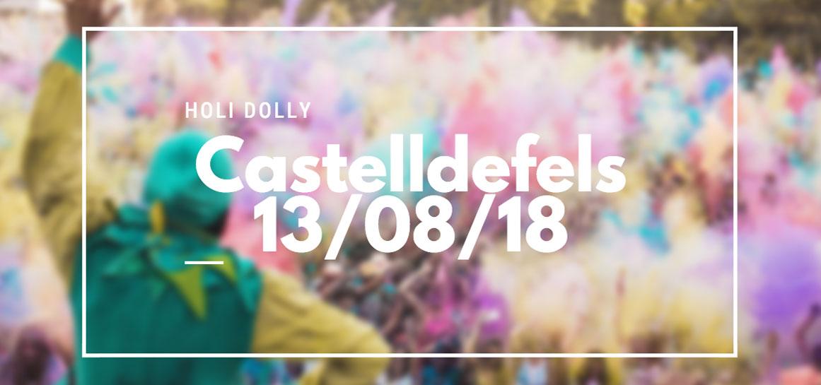 Fiesta holi Dolly Castelldefels 2018