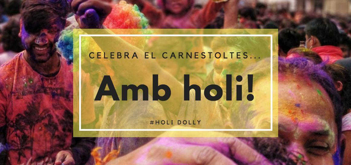 Celebra Carnestoltes holi